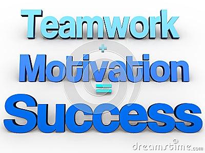 Teamwork + Motivation = Success!