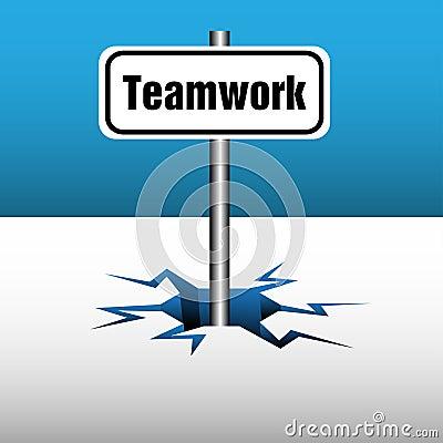 Teamwork plate