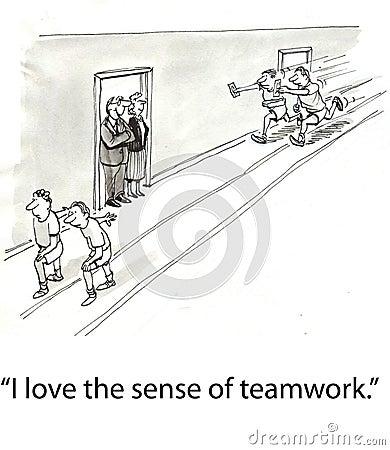 Teamwork relay