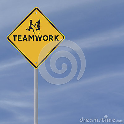 Teamwork Sign