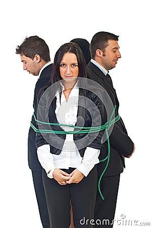 Teamwork tied up
