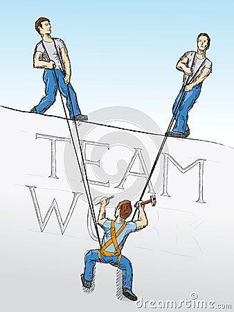 Teamwork (vector)