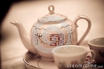 διπλό teapot ευτυχίας