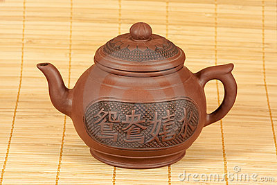 Teapot for tea preparation