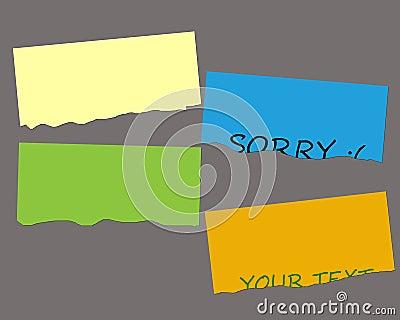 Tear Greeting Card