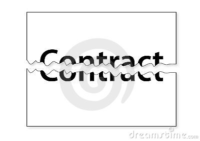 Teared Contract