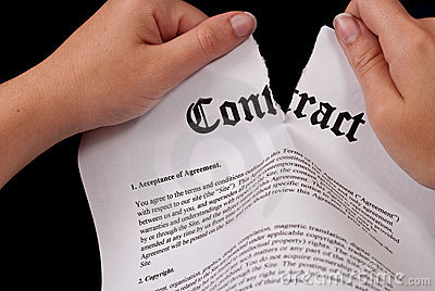 Tearing The Contract