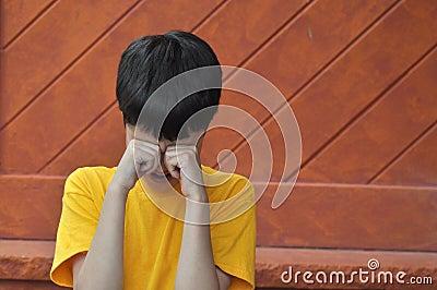 Teary Boy