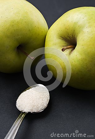 Teaspoon sugar vs green apples