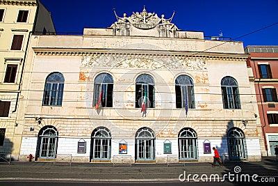 Teatro Argentina Editorial Photo
