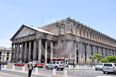 Teatro Degollado Guadalajara Mexico Editorial Stock Photo
