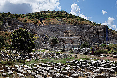 Teatro griego de Ephesus