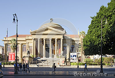 Teatro Massimo Editorial Photo