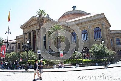 Teatro Massimo Palermo Editorial Image
