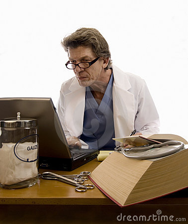 Tech or Physician Researching