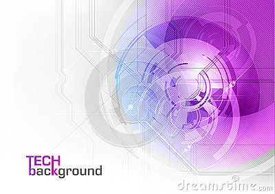 Tech purple