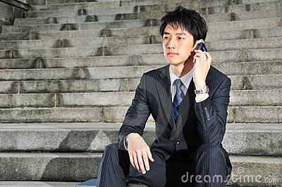 Tech Savvy Asian Executive 17