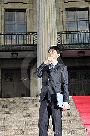 Tech Savvy Asian Executive 7