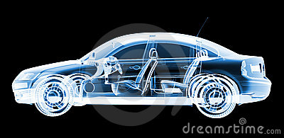 Tech xray car design
