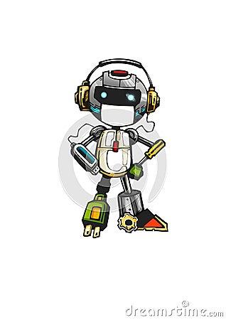 Techie robot