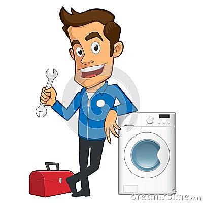 washing machine repair technician