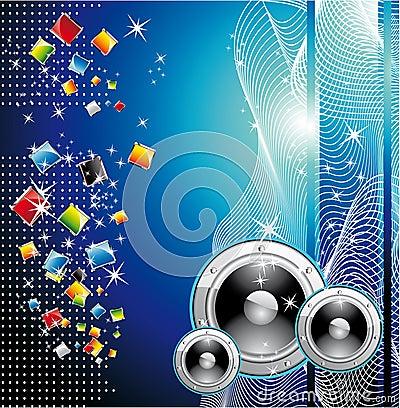 Techno Dance Background