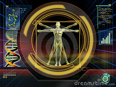 Technological man Editorial Image