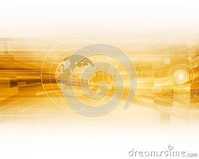Technologie-abstrakter Hintergrund