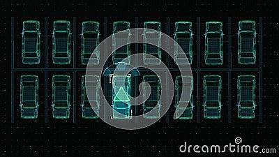 Technologie d'automobile Stationnement automatique, technologie d'IOT
