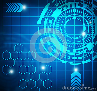 Free Technology Abstract Background Royalty Free Stock Images - 30955239