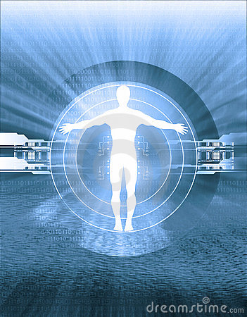 Free Technology And Human Body Intersection Stock Photos - 581783