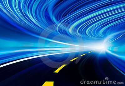 Technology background illustration, abstract speed
