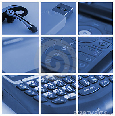 Free Technology Collage3 Royalty Free Stock Photo - 4008735