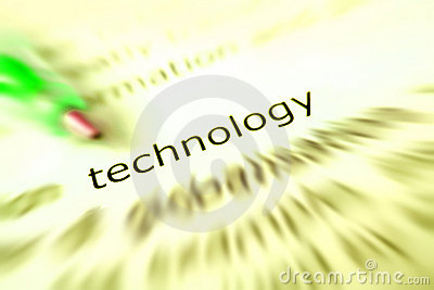Technology concept