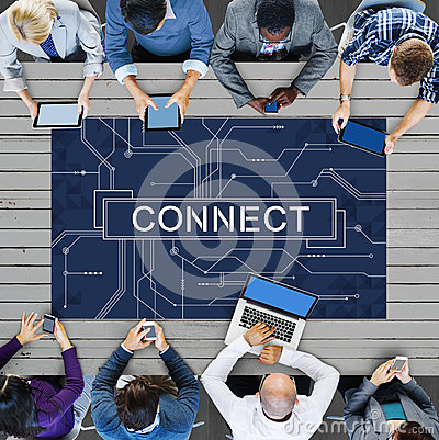 Free Technology Connection Online Networking Medias Concept Stock Image - 76831301