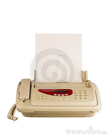 Technology fax machine