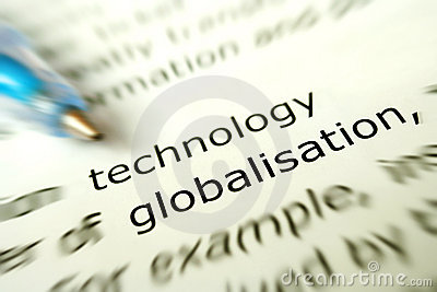 Technology for globalisation concept