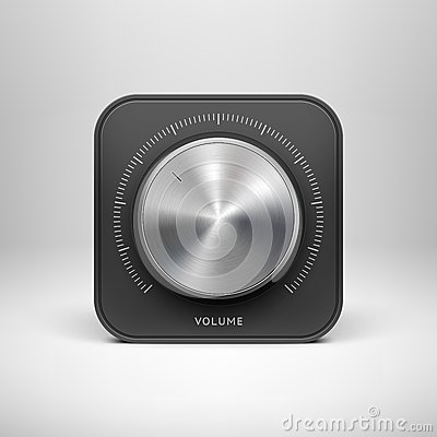 Free Technology Icon With With Metal Music Texture Royalty Free Stock Images - 30048789