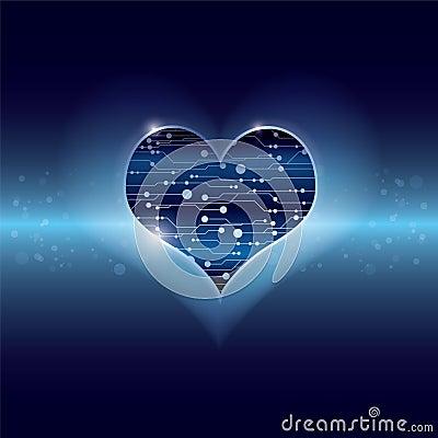 Technology inside heart