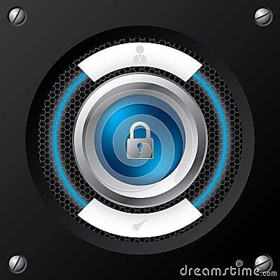 Technology login screen