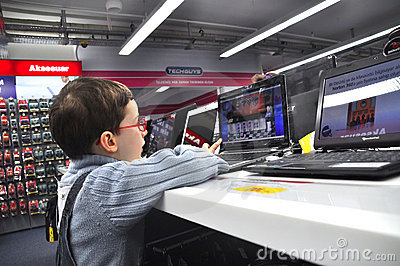 Technology market Editorial Photography