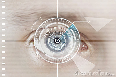 Technology scan man s eye for security