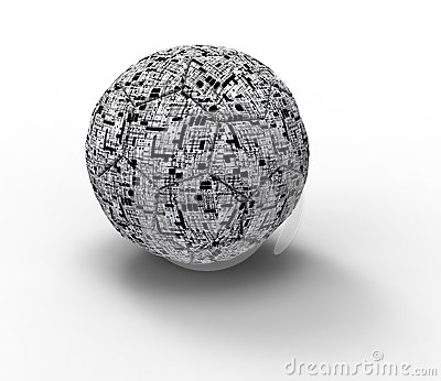 Technology soccer ball