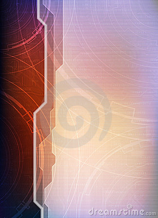 Technology theme template