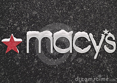 Tecken för macy s Redaktionell Bild