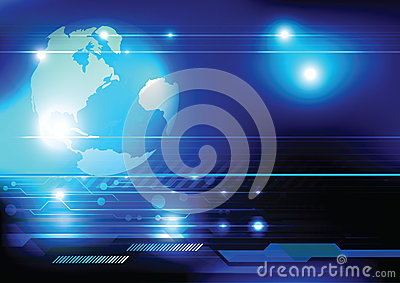 Tecnología del concepto del mundo