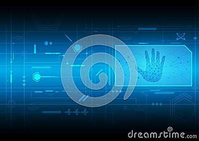 Tecnología digital del interfaz
