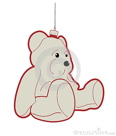 Teddy bear bauble