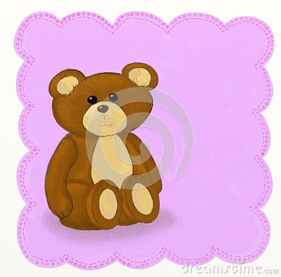Teddy bear - Childish style