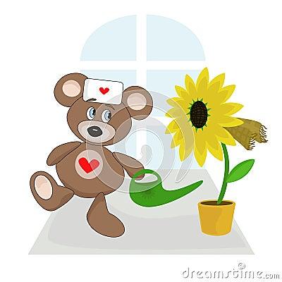 Teddy bear are doctor.